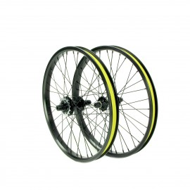 Cassette Wheelset 20X1.75 Pro 6Pawl, 140Clicks, Double Wall Rim, 36H Black