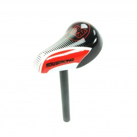 Stay Strong Race Dvsn Mini Seat / Post Combo Black/Red