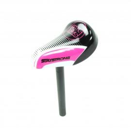Stay Strong Race Dvsn Mini Seat / Post Combo Black/Pink