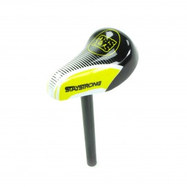 Stay Strong Race Dvsn Mini Seat / Post Combo Black/Yellow