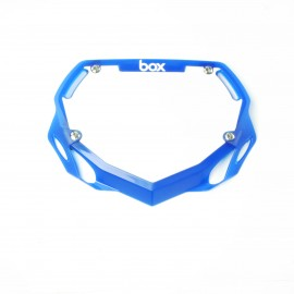 Box Phase 1 Number Plate Translucent Blue