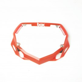 Box Phase 1 Number Plate Translucent Red