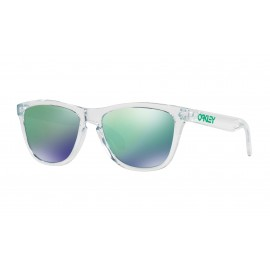 Frogskins™ Crystal Collection, Polished clear / Jade iridium