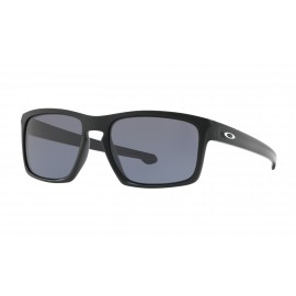 Oakley Silver, Matte Black / Gray
