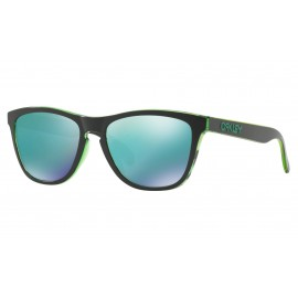 Oakley Frogskins Eclipse Collection, Eclipse Green / Jade Iridium