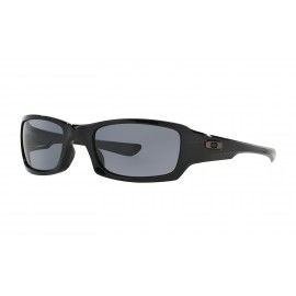 Oakley Fives Squared, Polished Black / Gray