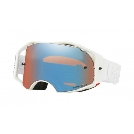 Oakley Airbrake Goggle, Factory Pilot Whiteout / Prizm Sapphire