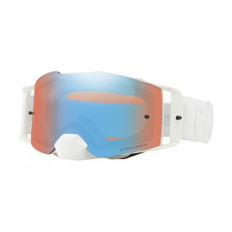 Oakley Frontline Goggle, Factory Pilot Whiteout / Prizm Sapphire