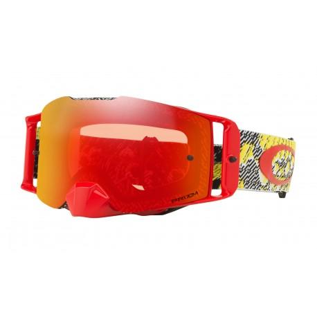 Oakley Frontline Goggle, Dazzle Dyno Yellow Red / Prizm Torch