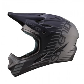 Seven 7iDP M1 FullFace Helmet, Tactic Black