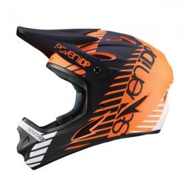 Seven 7iDP M1 FullFace Helmet, Tactic Orange