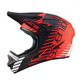 Seven 7iDP M1 FullFace Helmet, Tactic Red
