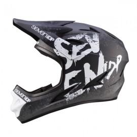 Seven 7iDP M1 FullFace Helmet, Gradient Black