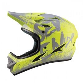 Seven 7iDP M1 FullFace Helmet, Gradient Lime
