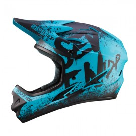Seven 7iDP M1 FullFace Helmet, Gradient Blue