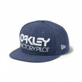 Oakley Factory Pilot  Novelty Snap Back, Blue Shade
