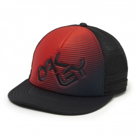 Oakley Novelty Logo Trucker, Red Line