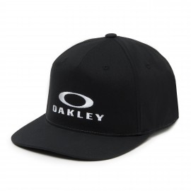 Oakley 110 O-Justable FlexFit Hat, Jet Black