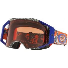 Oakley Airbrake Goggle, Dazzle Dyno Orange / Prizm Bronze