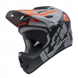 Kenny Downhill Helmet 2018 Grey/Black