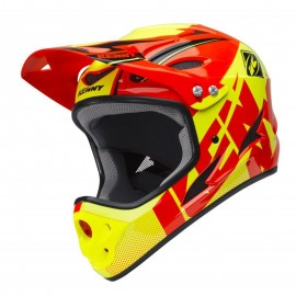 Kenny Downhill Helmet 2018 Neon Orange/Neon Yellow