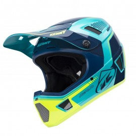 Kenny Scrub Helmet 2018 Aqua Yellow