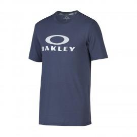Oakley O-Mesh Bark Tee Blue Indigo