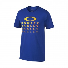 Oakley Painted Bark T-shirt Large Sapphire