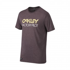 Oakley FP Basic Graphic T-shirt Purple Night Light Heather