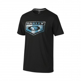 Oakley Bark Shield T-shirt Medium Jet Black