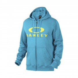 Oakley Ellipse Nest FZ Fleece Hoodie ZIP Lake Blue