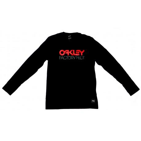 Oakley FP Logo L/S Tee Jet Black