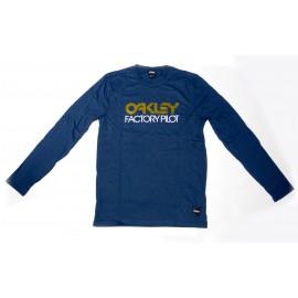 Oakley FP Logo L/S Tee Blue Shade
