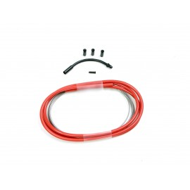 SD slick brake cable kit 1,2m Red