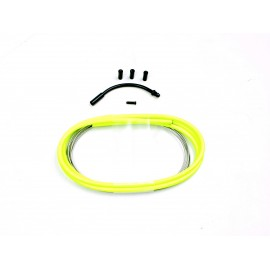 SD slick brake cable kit 1,2m Neon Yellow