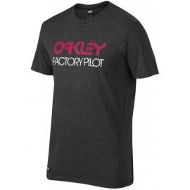 Oakley FP Basic Graphic T-shirt Large Jet Black Heather