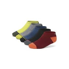 Oakley performance basic low cut sock 5 pack Large Assorted