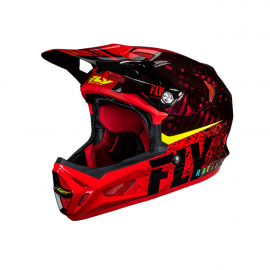 FLY Werx Imprint 2019 Mips Carbon Helmet Black/Red