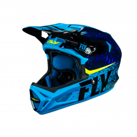 FLY Werx Imprint 2019 Mips Carbon Helmet Black/Blue
