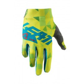 Leatt Glove GPX 1.5 Junior Lime/Teal