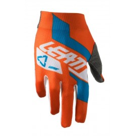 Leatt Glove GPX 1.5 Junior Orange/Denim
