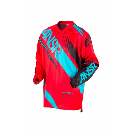 ANSR Syncron Jersey 2017 Red/Teal