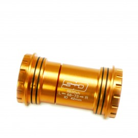 SD Bottom Bracket BB30 conversion to 24mm spindle V2 Orange