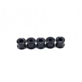 Sd Chainring Bolts 5 Set Cr-Mo Black