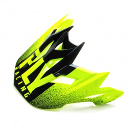 FLY Default Dither 2019 Visor Hi-Vis Yellow/Black