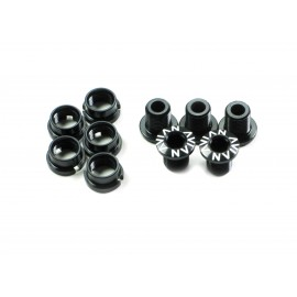 Avian Alloy Chainring Bolts Black