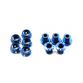 Avian Alloy Chainring Bolts Blue