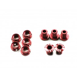 Avian Alloy Chainring Bolts Red