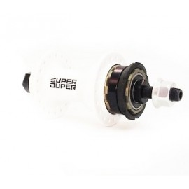 Sd Cassette Hub 36H Sealed Bearing Rear White