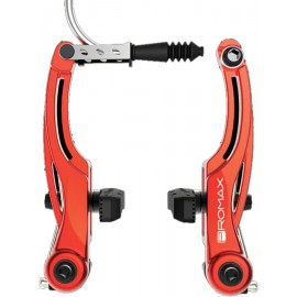 Promax P-1 Linear Pull V- Brakes 108mm Red